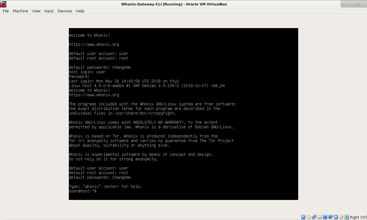 Whonix ™ for Windows, MacOS, Linux inside VirtualBox - Whonix