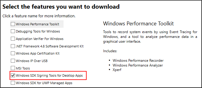 Select sdk features for download.png