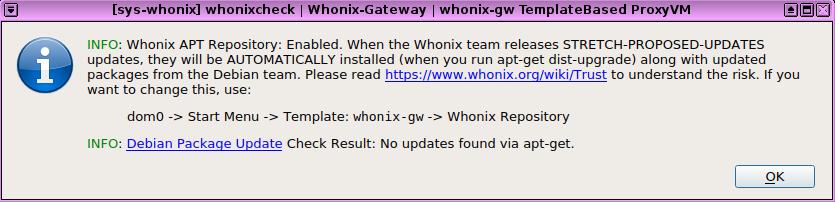 Screenshots of Common Whonix ™ Activities - Whonix