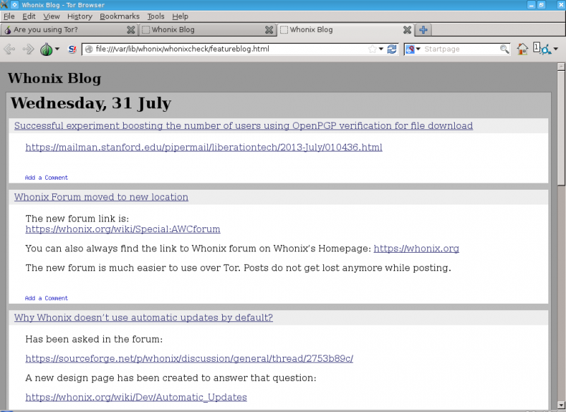 File:Whonix News Blog opened offline created by adrelanos.png