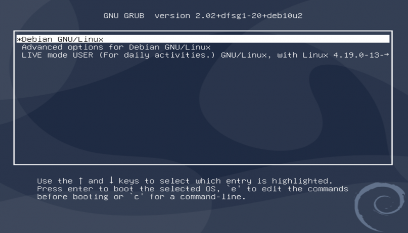 Grub-persistent mode indicator in debian.cleaned.png