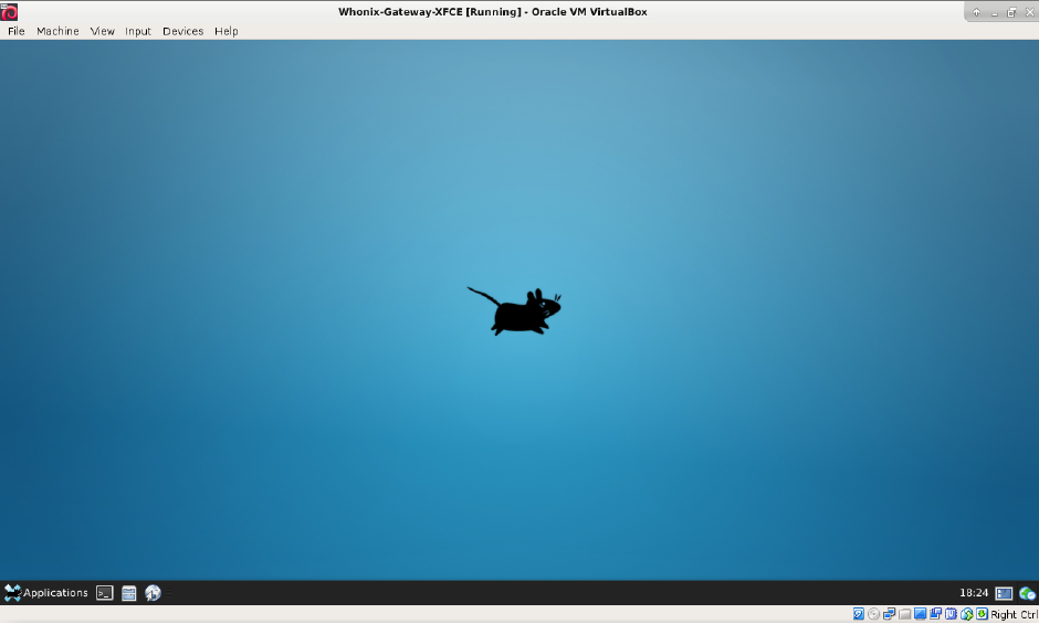 Whonix ™ for VirtualBox with XFCE - Whonix