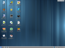 Whonix-Workstation mit KDE-Desktop